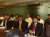 Meeting with Nipon Koi JICA Consultants